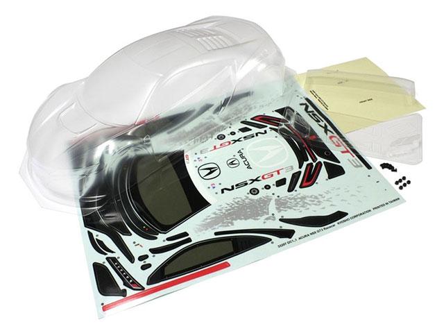 KYOSHO 39213 Acura NSX ノンデコレーションボディセット(ピュアテンサイズ)