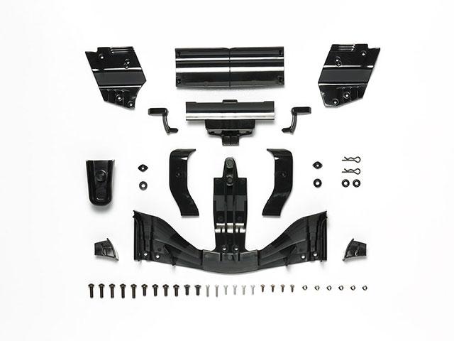 TAMIYA SP-1604 F104ウイングセット(タイプ2017)ブラック