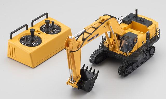 KYOSHO 66002HGC 1/50スケール 完全完成テーブルトップ IRC 建設機械 油圧ショベル KOMATSU PC1250-8(HG)Cバンド