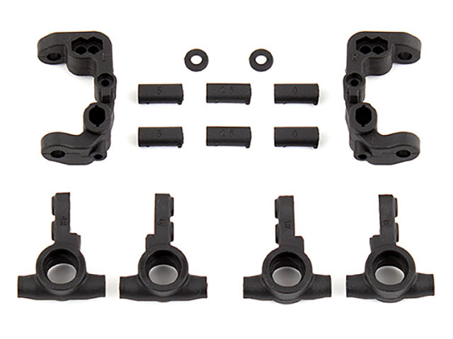 ASSOCIATED 91776 RC10B6.1 Caster and Steering Blocks