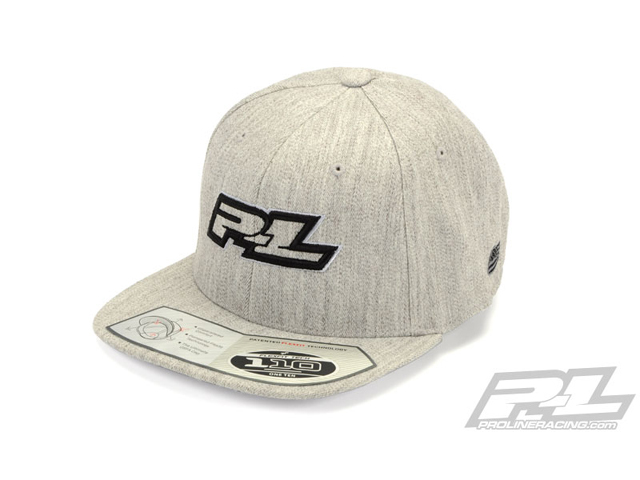 PROLINE 9808-00 Pro-Line Threads Gray Snapback Hat