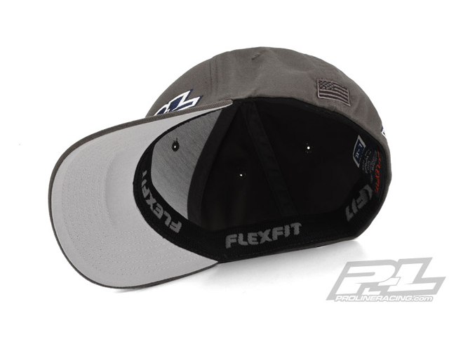PROLINE 9822-01  Pro-Line Gray FlexFit Hat (L-XL)