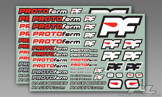 PROTOform 9912-39 PROTOform Team Decals