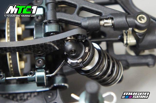 MUGEN A2001 MTC1 1/10 電動ツーリングカーシャーシキット【予約商品です】
