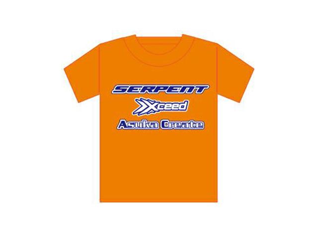 Asuka Create AC0115 アスカクリエートTシャツ【オレンジ/サイズXL】