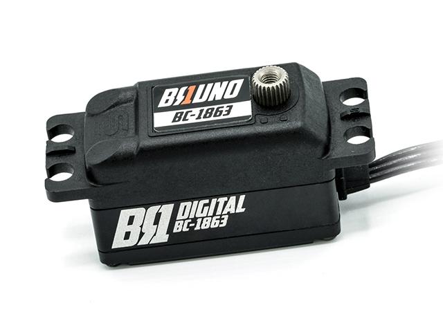 BC-1863 BRUNO ハイスピードブラシレスデジタルロープロサーボ