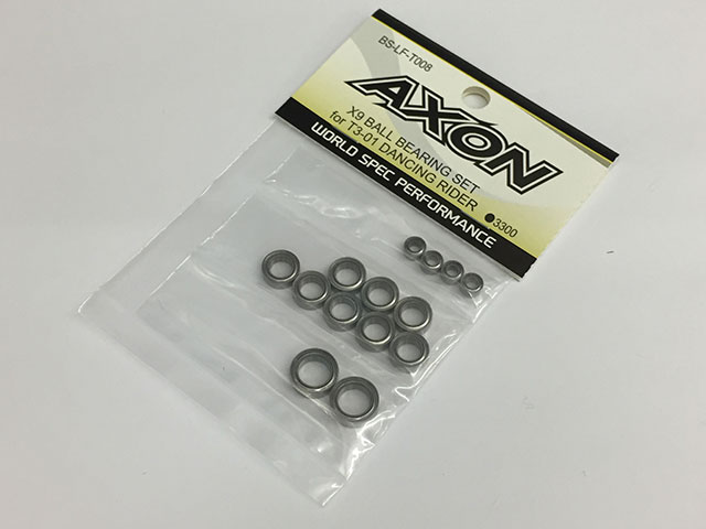 AXON BS-LF-T008 X9 BALL BEARING SET for T3-01 DANCING RIDER