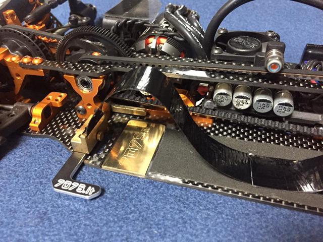 RC-MISSION FF75-XT09GH 7075it バッテリーマウントシステムキット【XRAY T4用】