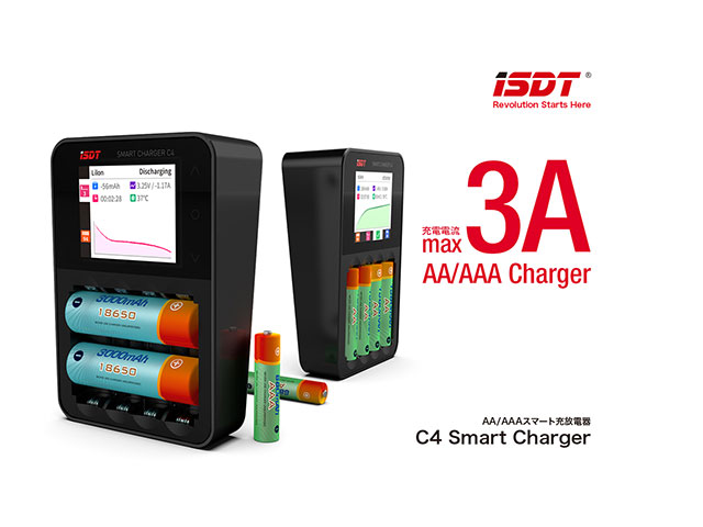 G-FORCE GDT108 ISDT C4 Smart Charger