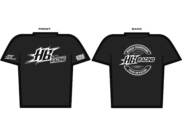 HPI 204177  HB RACING World Champion HB Racing T-Shirt (Next Level)【サイズL】