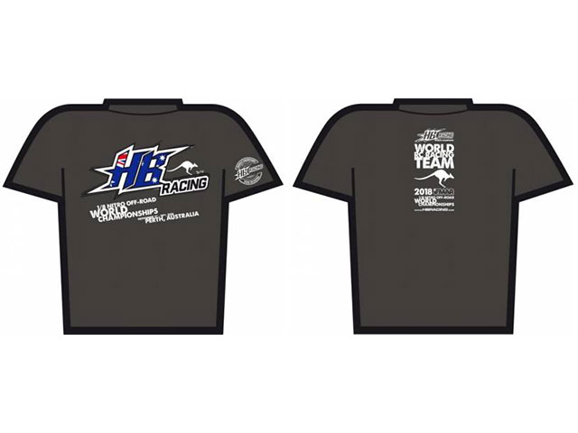 HB HB204419 HB Racing 2018 WC Edition T-Shirt Mサイズ (Next Level)