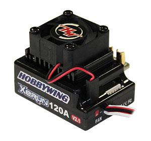 HOBBYWING HW81020171 XeRUN 120A SD V2.1 ブラック
