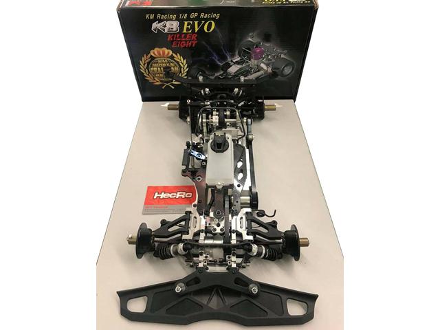 KM GROUP K8EVO K8 EVO(キラ−エイト エボ) 1/8 GPレーシングカーキット