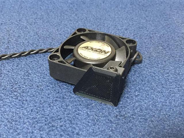 RC-MISSION MI-CFMR-40 クーリングファンマウントリア用 40mmサイズ