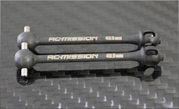 RC-MISSION MI-DCJ-DMTC1 高精度ダブルジョイント用ドックボーン【MTC1用/2個入】