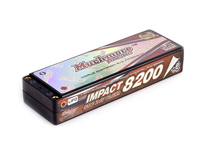Muchmore MLI-MP8200FD3 インパクト Max-Punch FD3 Li-Poバッテリー8200mAh/7.4V 120C ハードケ-ス仕様