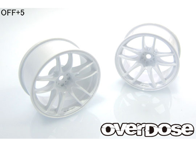 OVERDOSE OD2476 R-SPEC WORK EMOTION CR Kiwami【ホワイト/OFF+5/2pcs】