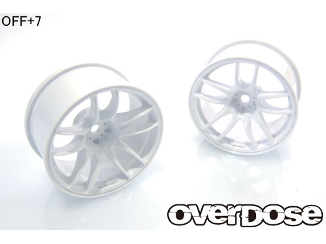 OVERDOSE OD2477 R-SPEC WORK EMOTION CR Kiwami ( ホワイト /OFF+7)