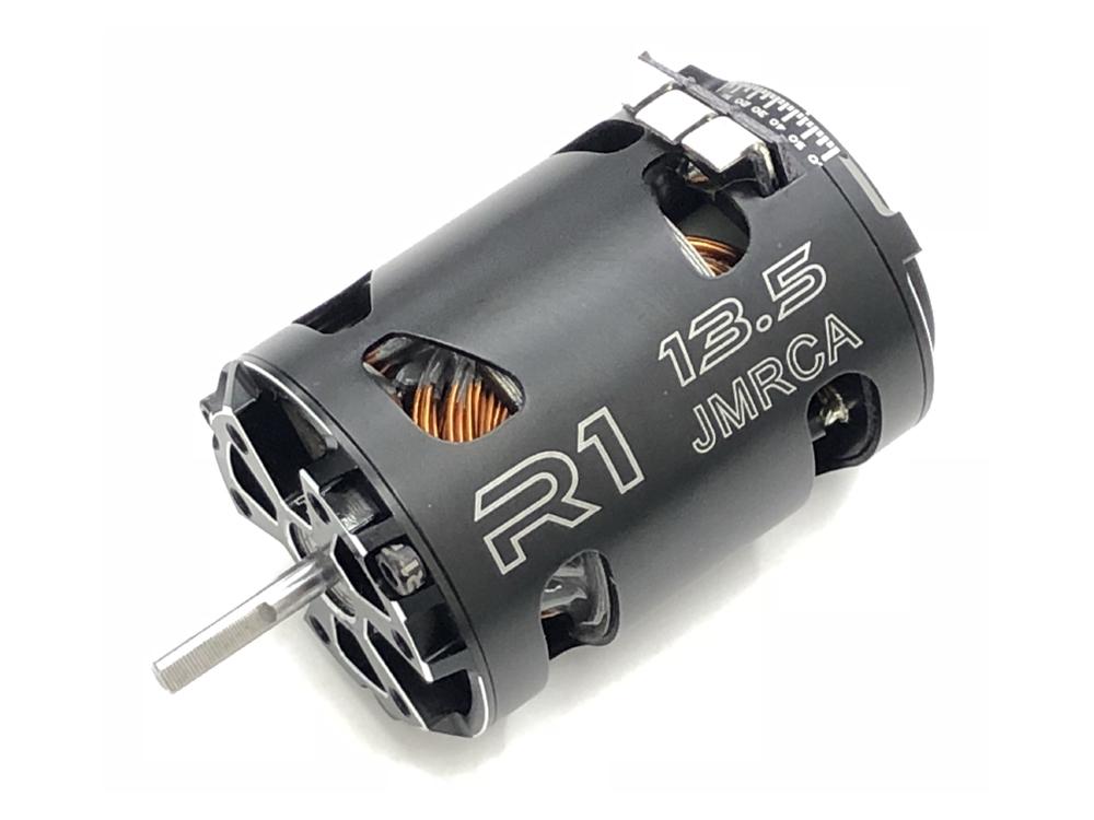 R1 WURKS R1-135-125-V16 R1 WURKS V16 ブラシレスモーター【13.5T JMRCA/12.5mm Rotor】