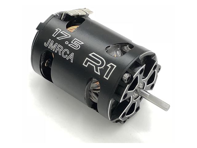 R1 WURKS R1-175-125-V16 R1 WURKS V16 ブラシレスモーター【17.5T JMRCA/12.5mm Rotor】