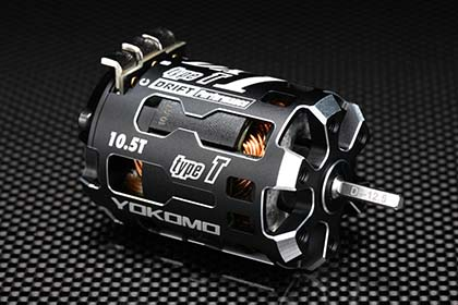 YOKOMO RPM-DX105T DX1T ドリフト用ブラシレスモーター10.5T【Type T/ハイトルク型】