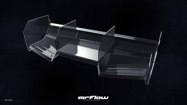 RICKSIDE DESIGN RSDP-GPA12 Rear Wing TURBOLENCE(1枚入)