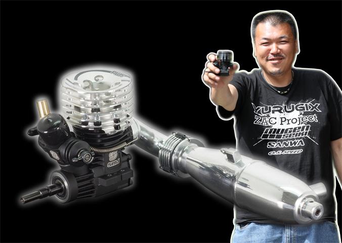 YURUGIX SMJ1112CS-B SMJ Kabuto T12 ツーリングカー用エンジン コンボセット【YURUGIX ブレークイン済/SPEC-1】