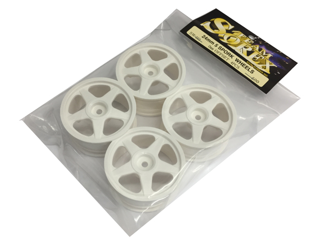 SOREX SW-501 24mm 5SPORK WHEELS【0mm OFFSET 4PCS】