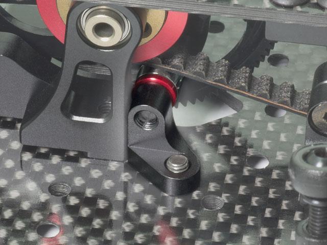 INFINITY T108 リアベルトローラーセット(IF14/ブラック)