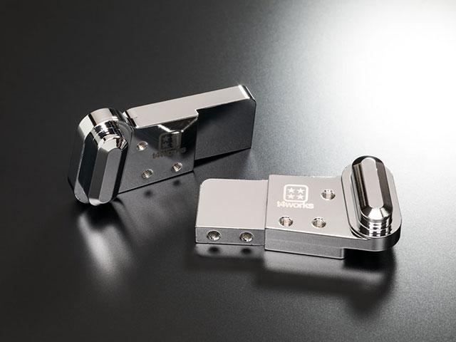 T4WORKS T4-HG01CM ビレットハンガー 【8mmロング/クローム】
