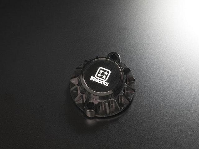 T4WORKS T4-MM01BK ビレットモーターマウント【ブラック】