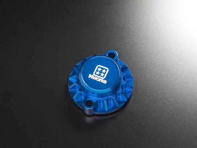 T4WORKS T4-MM01BL ビレットモーターマウント【ブルー】