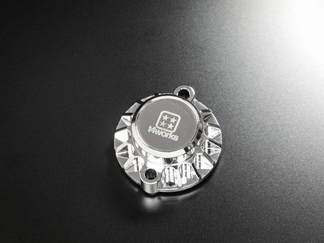 T4WORKS T4-MM01CM ビレットモーターマウント【クローム】