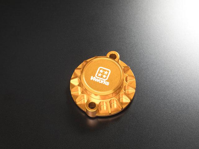 T4WORKS T4-MM01GD ビレットモーターマウント【ゴールド】