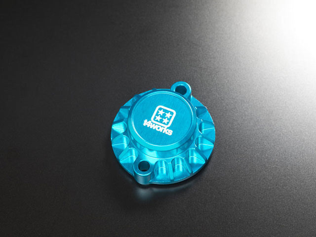 T4WORKS T4-MM01LB ビレットモーターマウント【ライトブルー】