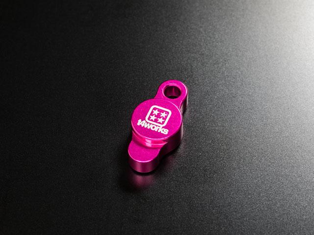 T4WORKS T4-OC01PI ビレットオイルフィラーキャップ【ピンク】