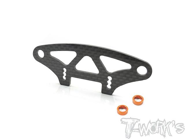 TEAM AJ TE-203-T419 グラファイト製バンパーアッパーホルダー【XRAY T4 2019用】
