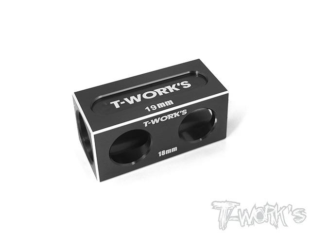 TEAM AJ TT-050BK アンチツウィークブロック 18mm/19mmバルク用【ブラック/YOKOMO BD9/XRAY T4用】