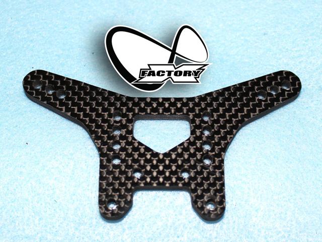 X-Factory XI-604 XRAY XB2用リヤカーボンショックタワー 【ヘビーデューティー/ダートエディション用】