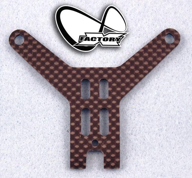 X-Factory XI-607 カーボンバッテリーストラップ【XRAY XB2 カーペットエディション用】