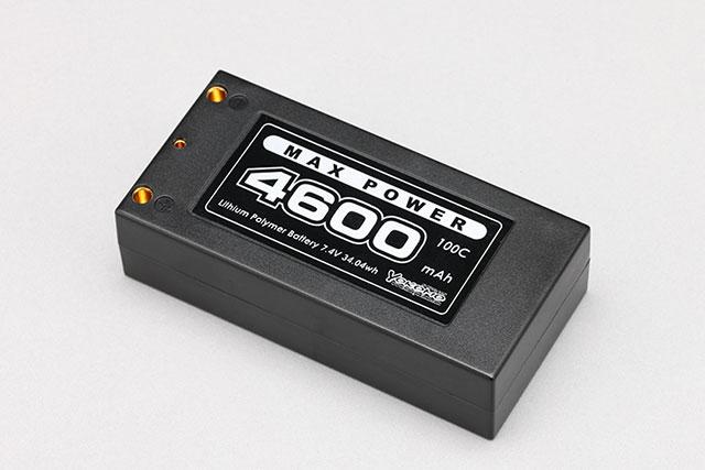 YOKOMO YB-V246B ヨコモ Li-po 4600mAh/7.4V 100C ショートサイズ バッテリー