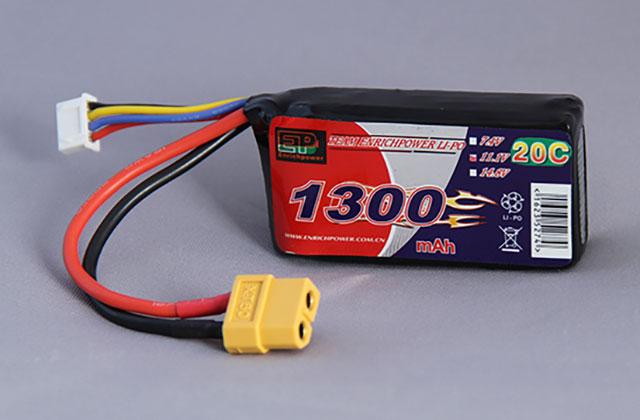 Powers EP-1300203S EP Lipo 1300mAh 20C 11.1V【3セル/XT60】