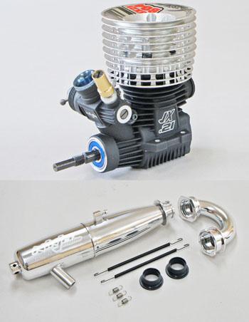 MUGEN JX21B04/2PLa JX21-B04 プレラッピングバギー用エンジンセット(EFRA 2042)【販売記念セール】