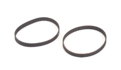 Schumacher U7175 Rear Belt 72T x 5mm (pr) - CAT XLS