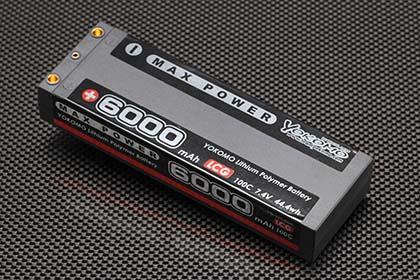 YOKOMO YB-V260BL マックスパワー Li-po 6000mAh/7.4V LCGバッテリー
