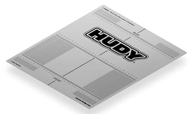 HUDY 108660# セットアップボードスケールステッカー(1/10オフロード)