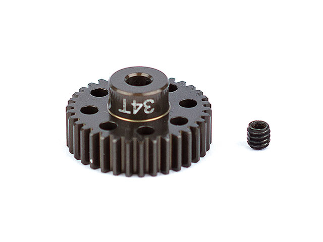 ASSOCIATED 1352 FT Aluminum Pinion Gear, 34T 48P