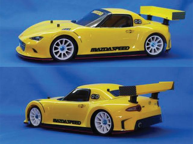 RIDE 27040 Mシャシー用 マツダ MX5(ロードスター)RCカーコンセプト ボディ