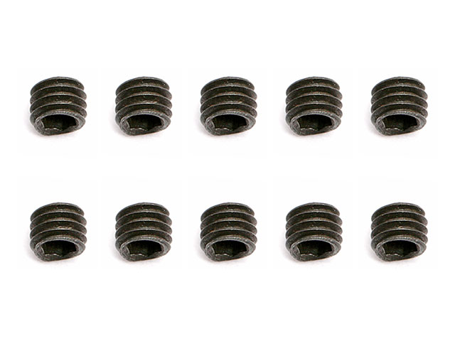 ASSOCIATED 31500 Set Screws, M3x2.5 mm