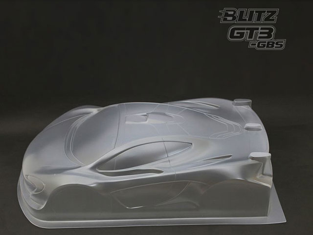 Active 60806-08 BLITZ GT3-GBS 1/8GTボディー(0.8mm厚)